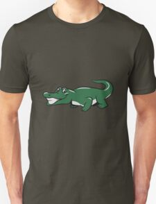 Crocodile funny naughty Unisex T-Shirt