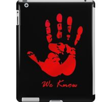 Skyrim Dark Brotherood iPad Case/Skin