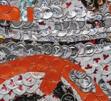 The Cute Spherical Droid - Bottle Cap Mosaic Sticker
