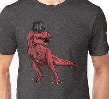 T-rex Tophat   Unisex T-Shirt