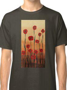 Decorative Poppies by Irina Sztukowski Classic T-Shirt