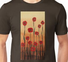 Decorative Poppies by Irina Sztukowski Unisex T-Shirt