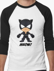 SupaDupa CatWoman Men's Baseball ¾ T-Shirt