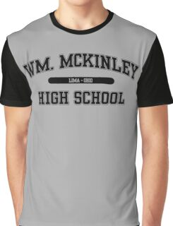 William McKinley High School (Black) Graphic T-Shirt