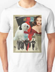 West Highland White Terrier Art - All About Eve Movie Poster T-Shirt