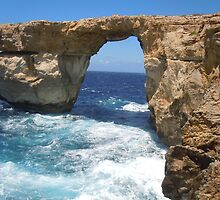 The Azure Window, Gozo by Watkins-photos
