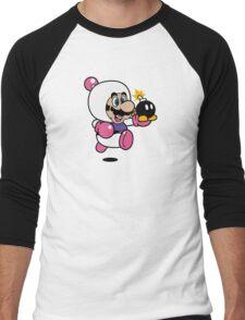 Bomber Suit Men's Baseball ¾ T-Shirt