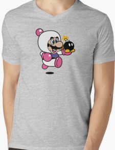 Bomber Suit Mens V-Neck T-Shirt