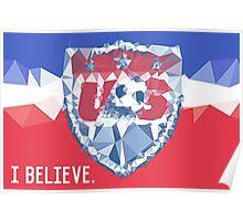 US Soccer Poster
