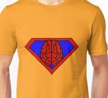 Hero, Heroine, Superhero, Super Brain Unisex T-Shirt