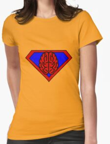 Hero, Heroine, Superhero, Super Brain Womens Fitted T-Shirt