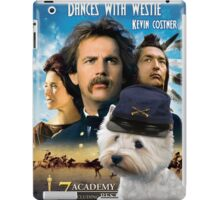 West Highland White Terrier Art - Dances with Wolves Movie Poster iPad Case/Skin