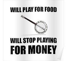 Banjo For Money Poster
