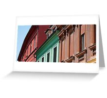 Buildings in Celje Greeting Card