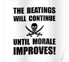 Beatings Morale Improve Poster