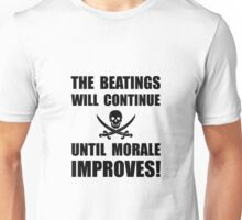Beatings Morale Improve Unisex T-Shirt