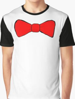 Bow Tie Graphic T-Shirt