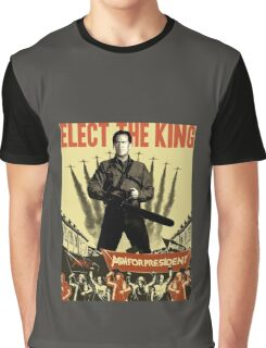 Ash for president! Graphic T-Shirt