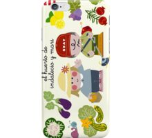 Working On The Vegetable Garden iPhone Case/Skin