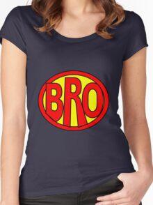 Hero, Heroine, Superhero, Super Bro Women's Fitted Scoop T-Shirt