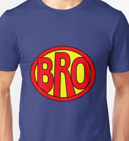 Hero, Heroine, Superhero, Super Bro Unisex T-Shirt