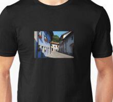 Buildings in Kobarid Unisex T-Shirt