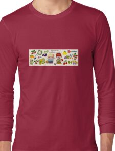 Working On The Vegetable Garden Long Sleeve T-Shirt