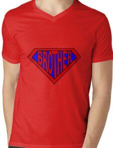 Hero, Heroine, Superhero, Super Brother Mens V-Neck T-Shirt