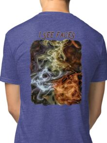 I See Faces Special Edition Tri-blend T-Shirt