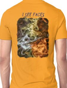 I See Faces Special Edition Unisex T-Shirt