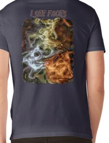 I See Faces Special Edition Mens V-Neck T-Shirt