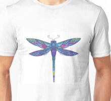 Blue Dragonfly Unisex T-Shirt