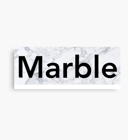 Marble army Canvas Print