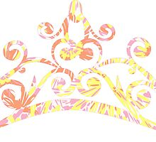 Lilly Pulitzer Inspired Tiara - Sunkissed by mlr28blu