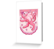 Steven universe - Coat of arms Greeting Card