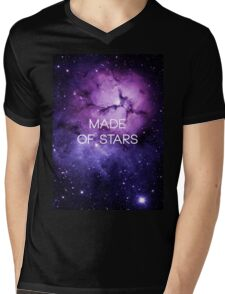 Made of Stars Mens V-Neck T-Shirt