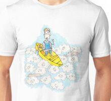 mouton en canoe Unisex T-Shirt