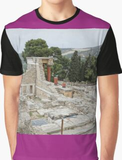 Knossos or Cnossos is the largest Bronze Ag Graphic T-Shirt