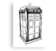 TARDIS Metal Print