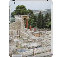 Knossos or Cnossos is the largest Bronze Ag iPad Case/Skin