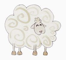 mouton heureux / droite One Piece - Short Sleeve