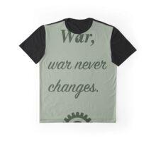 War, War never. Graphic T-Shirt