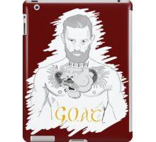 Conor McGregor G.O.A.T (maroon) iPad Case/Skin