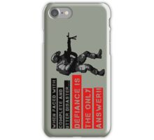 When faced with complete disaster... by #fftw iPhone Case/Skin