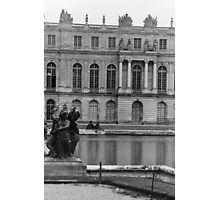 Vintage Versailles in Black and White Photographic Print
