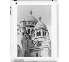 Sacre Coeur Black and White iPad Case/Skin