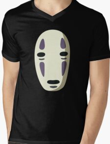 No face from chihiro Mens V-Neck T-Shirt