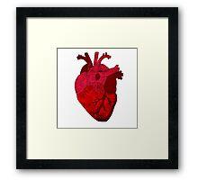 Human heart. Framed Print