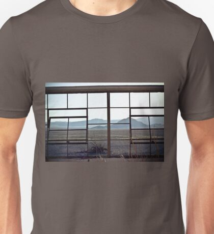 View From the Zzyzyx Baths Unisex T-Shirt