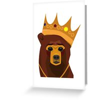 The Notorious B.E.A.R. Greeting Card